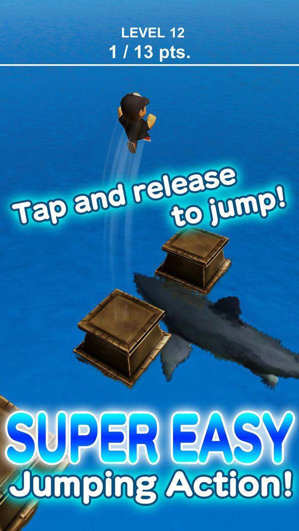 鲨鱼逃亡跳一跳游戏全角色破解版下载图1: