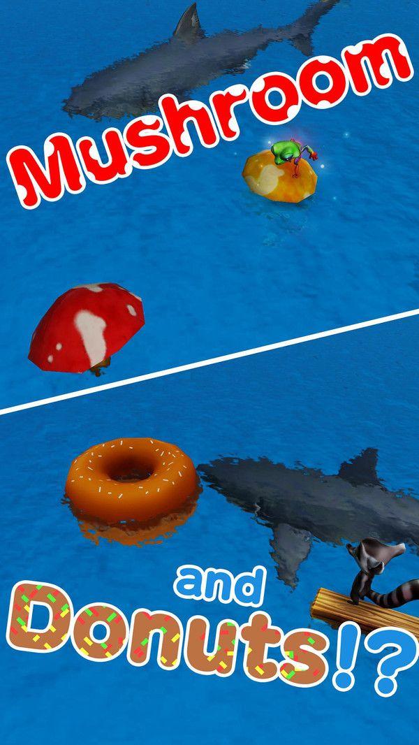 鲨鱼逃亡跳一跳游戏全角色破解版下载图5: