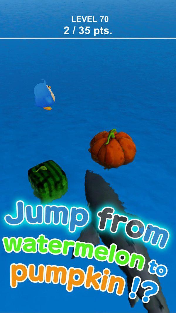 鲨鱼逃亡跳一跳游戏全角色破解版下载图3: