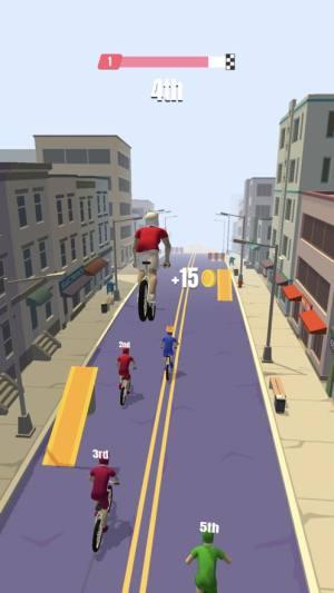 bike rush无限金币中文修改版下载(自行车冲刺)图片1
