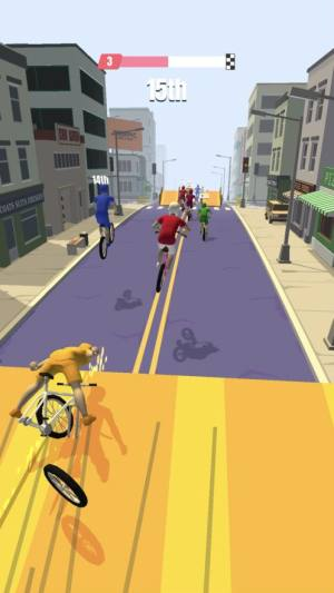 bike rush无限金币中文修改版下载(自行车冲刺)图片4