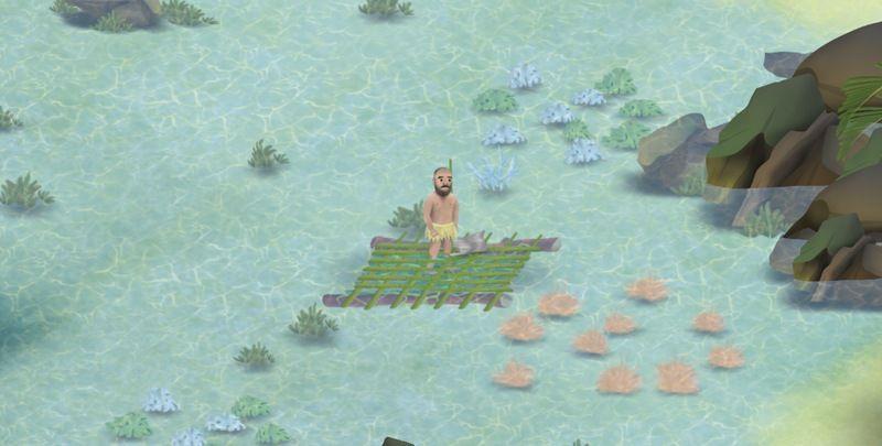 挨饿荒野1.8帕劳群岛最新版图1: