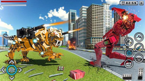 白虎机器人游戏官方正式版下载图2: