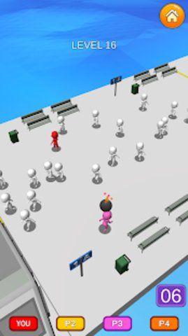 人群逃生3D游戏破解版无限金币下载图片4