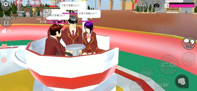 櫻花校園模擬器2019萬圣節新服裝中文版下載 v1.037.05截圖