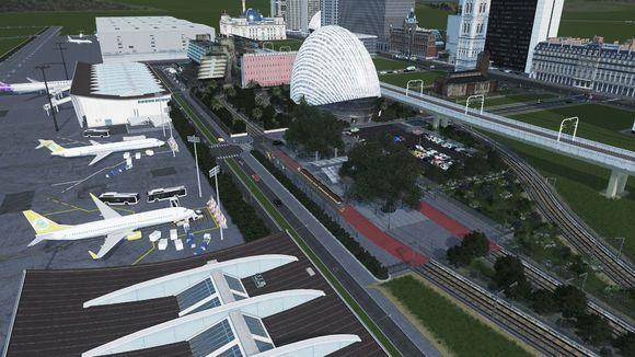 城市天际线完美规划不堵车破解版图4: