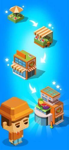 放置商业街游戏破解版无限钻石下载图片2