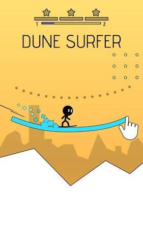 画线冲浪游戏安卓官方版下载(Dune Surfer)图片1