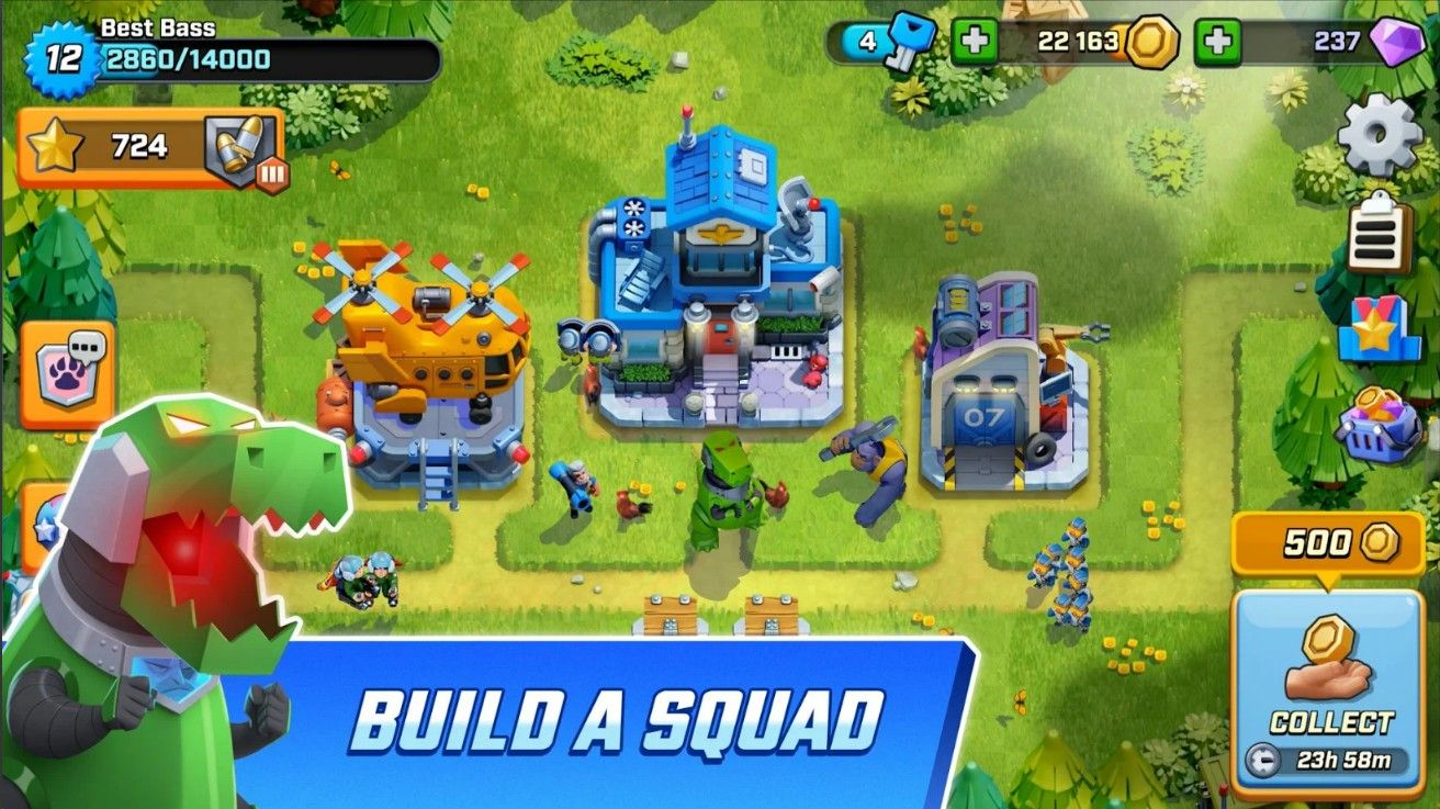 Rush Wars游戏手机版下载图1: