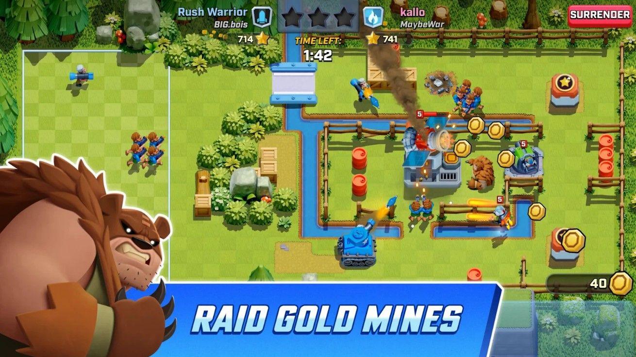 Rush Wars游戏手机版下载图2: