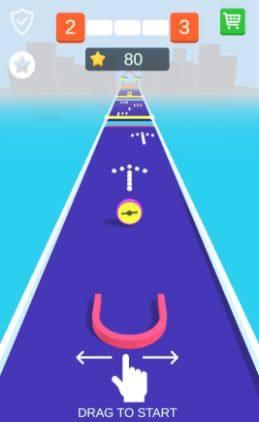 抖音吸住小球游戏官方网站下载安卓版(Drag n Shape)图片1
