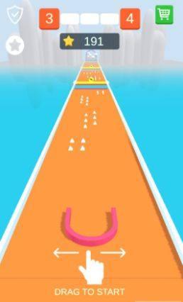 抖音吸住小球游戏官方网站下载安卓版(Drag n Shape)图片2