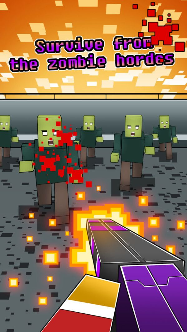 像素英雄打僵尸游戏官方正式版下载图片1