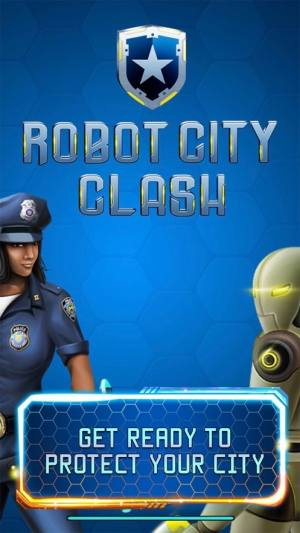 Robot City Clash游戏图2