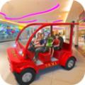 家庭汽车驾驶出租车游戏