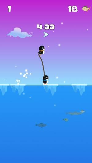 绳索企鹅弹跳大师游戏图2