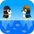 绳索企鹅弹跳大师游戏