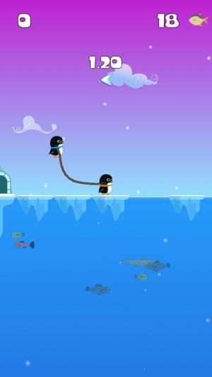 绳索企鹅弹跳大师游戏图5