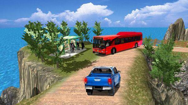 公共汽车司机模拟器山丘游戏中文版最新下载图3: