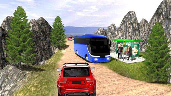 公共汽车司机模拟器山丘游戏中文版最新下载图4: