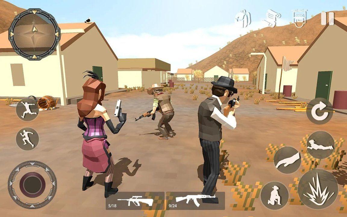 像素移动射击游戏最新中文版下载图1: