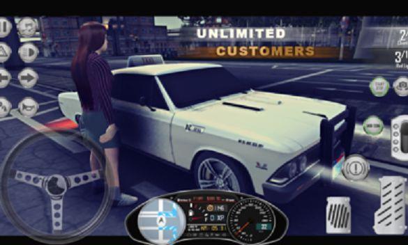 真实出租车模拟器最新内购中文无限金币版图1: