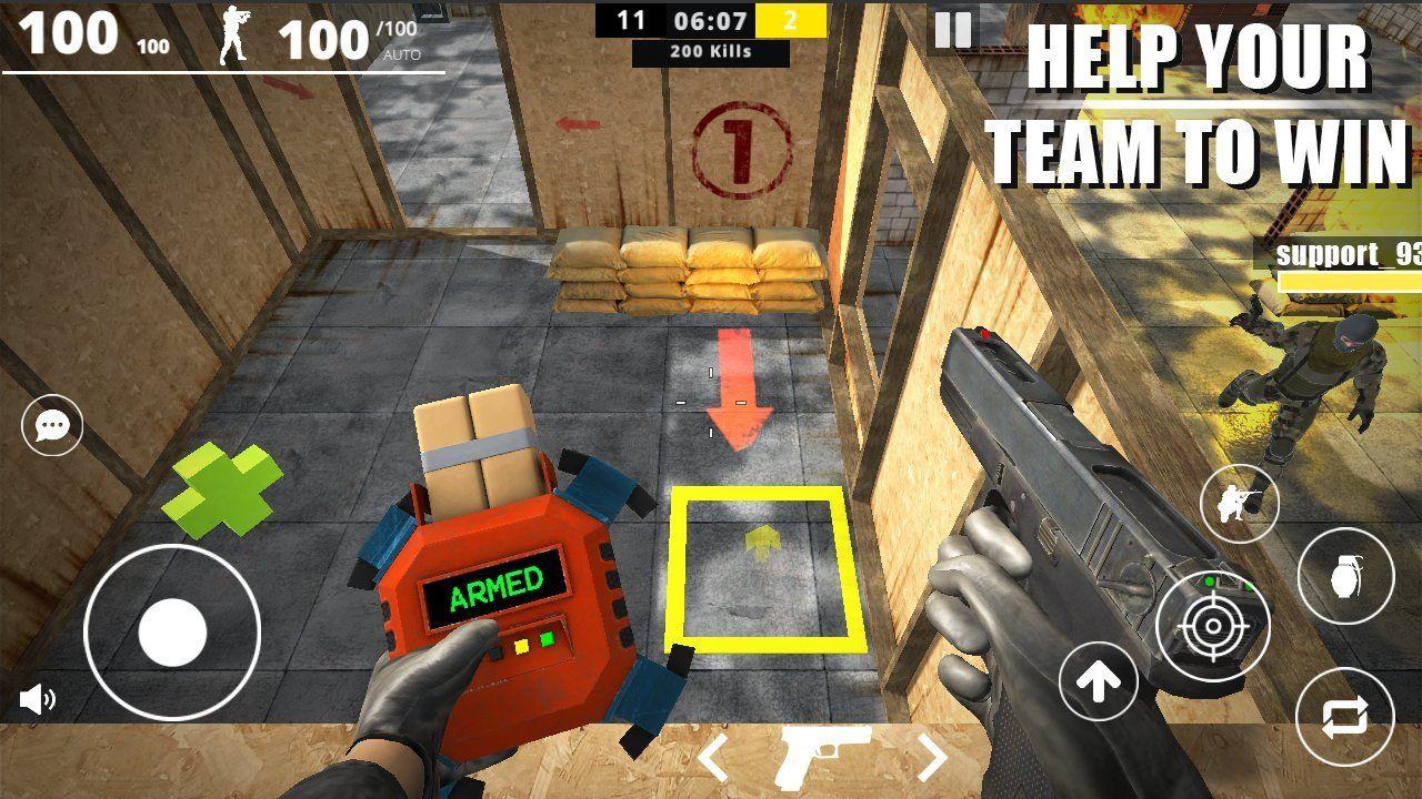 在线打击部队游戏汉化手机版下载图3: