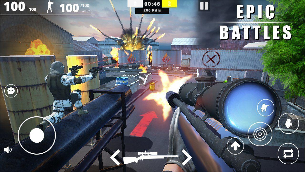 在线打击部队游戏汉化手机版下载图1: