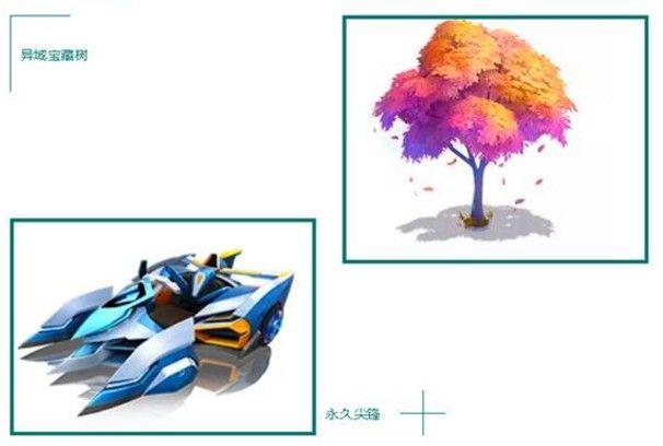 跑跑卡丁车手游异域宝藏树攻略:异域宝藏树多少钱购买?[视频][多图]图片2