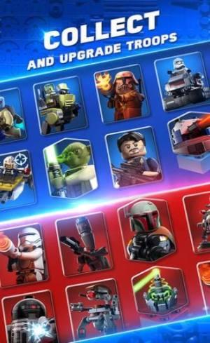 乐高星战争霸中文国际服官方版下载(Lego Star Wars Battles)图片1