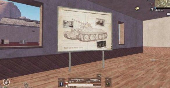 和平精英坦克在哪里?坦克和迫击炮彩蛋位置汇总[视频][多图]图片4
