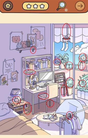 脑洞大侦探找隐藏攻略:找隐藏特别关卡1-9图文通关汇总[多图]图片2