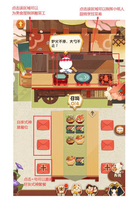 阴阳师妖怪屋怎么聚餐?食物摆放美食屋聚餐攻略[多图]图片2