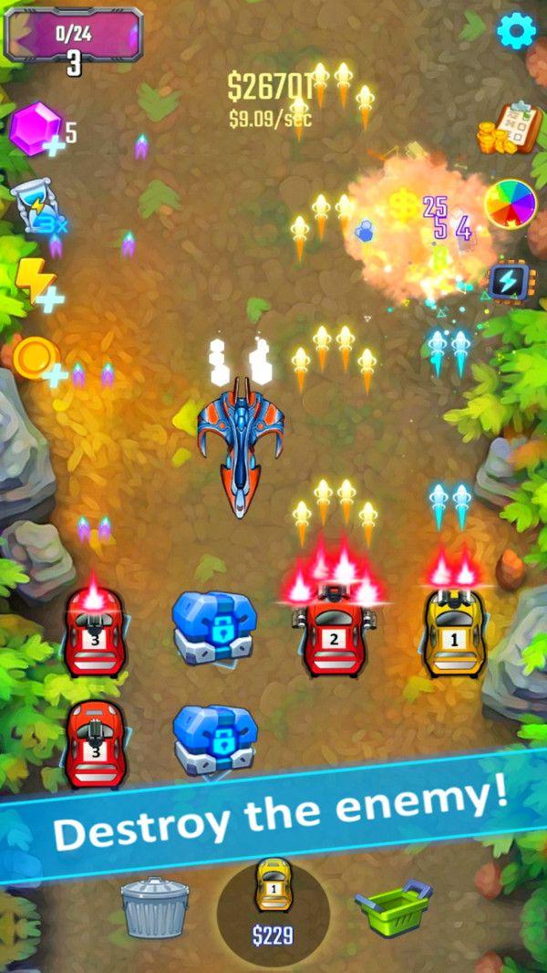 射击飞车游戏安卓中文版下载图1: