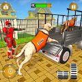 医生机器人运输宠物动物运输车游戏