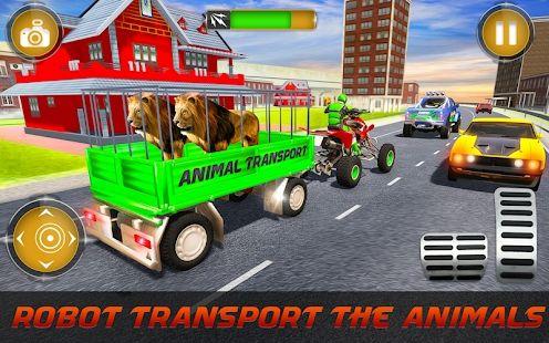 医生机器人运输宠物动物运输车游戏中文版图3: