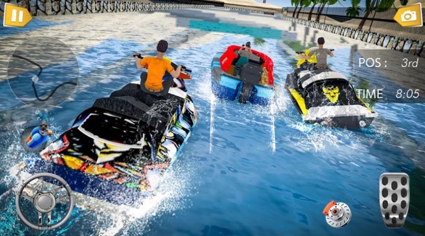 涡轮水冲浪赛车游戏正式版图1: