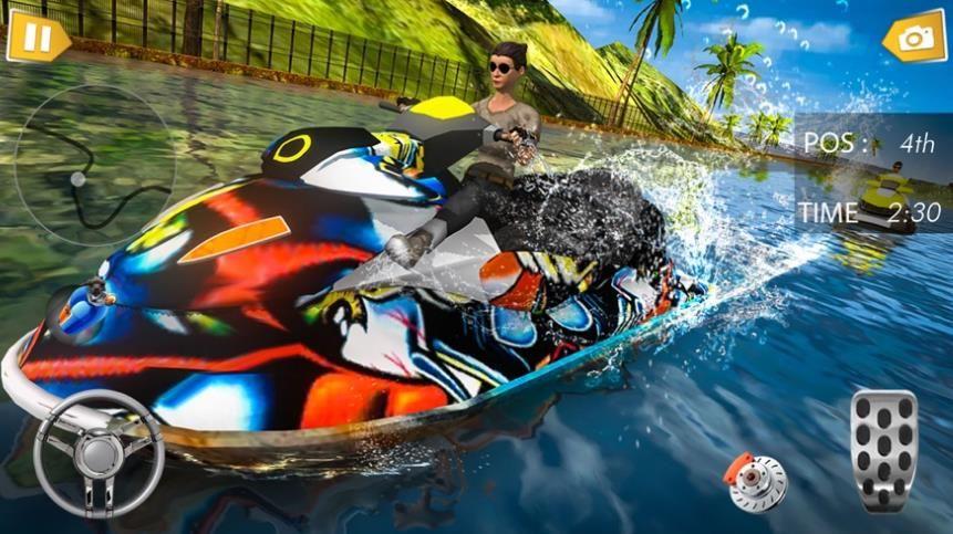 涡轮水冲浪赛车游戏正式版图2: