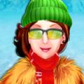 冬季时装秀明星女孩游戏