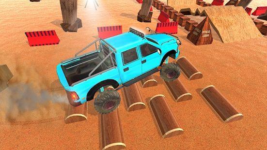 4x4越野SUV新吉普模拟游戏安卓最新版图1: