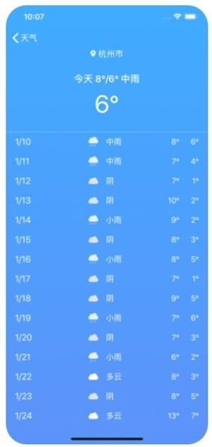 极速天气APP图1