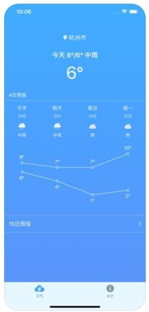 极速天气APP图2