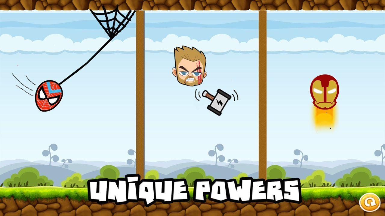 我是超级英雄游戏最新手机版下载图4: