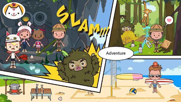 米加镇的假期游戏中文手机版下载图1: