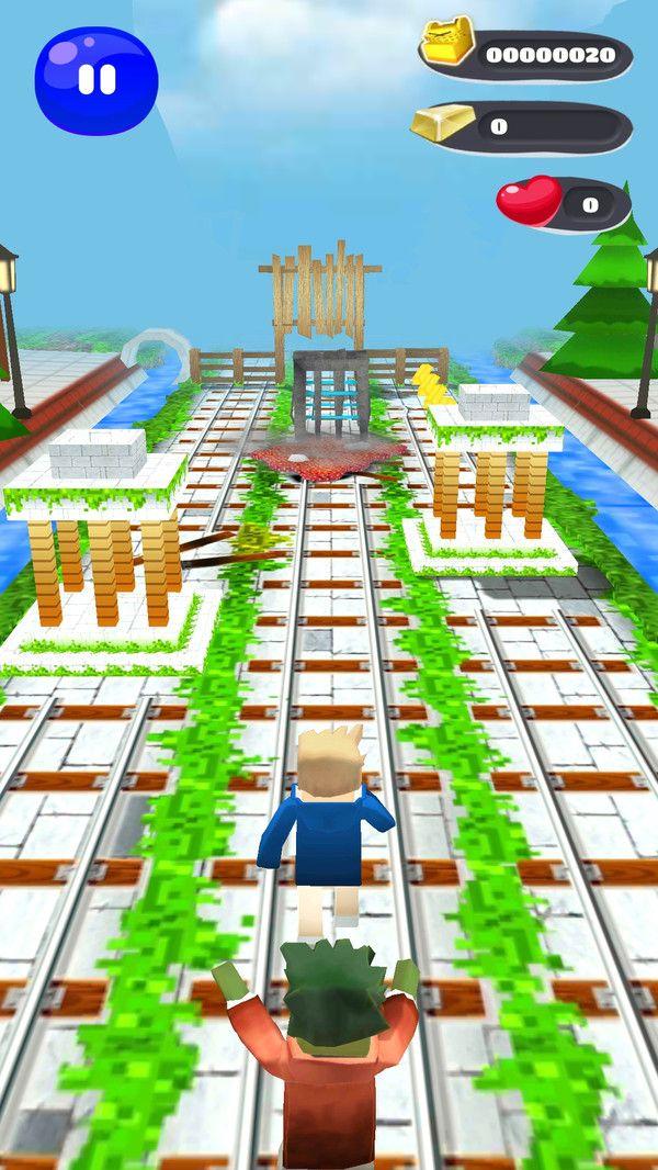海贼王方块冒险游戏安卓免费版图1: