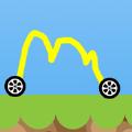 画个赛车小游戏