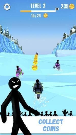 火柴人雪橇赛破解版图4