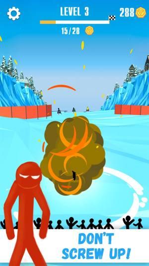 火柴人雪橇赛破解版图2