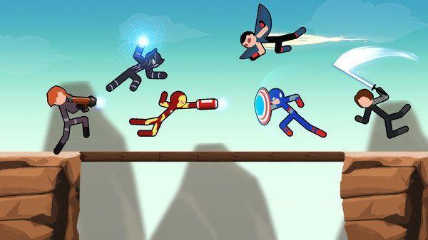 火柴人超级英雄格斗无限金币破解版图2: