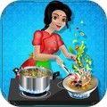 印度美食烹饪餐厅游戏